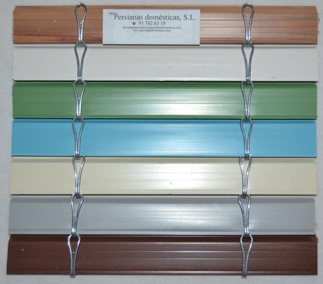 Carta colores alicantinas de pvc